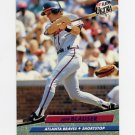 1992 Ultra Baseball #159 Jeff Blauser - Atlanta Braves
