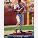 1992 Ultra Baseball #157 Steve Avery - Atlanta Braves