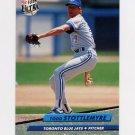 1992 Ultra Baseball #153 Todd Stottlemyre - Toronto Blue Jays