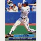 1992 Ultra Baseball #150 Greg Myers - Toronto Blue Jays