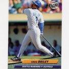 1992 Ultra Baseball #120 Greg Briley - Seattle Mariners