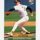 1992 Ultra Baseball #119 Bob Welch - Oakland A's