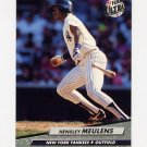 1992 Ultra Baseball #106 Hensley Meulens - New York Yankees