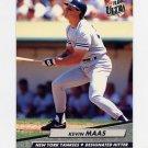 1992 Ultra Baseball #104 Kevin Maas - New York Yankees