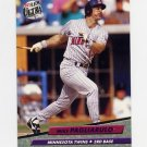 1992 Ultra Baseball #096 Mike Pagliarulo - Minnesota Twins