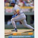 1992 Ultra Baseball #086 Greg Vaughn - Milwaukee Brewers