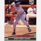 1992 Ultra Baseball #062 Tony Phillips - Detroit Tigers