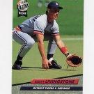 1992 Ultra Baseball #061 Scott Livingstone - Detroit Tigers