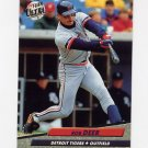 1992 Ultra Baseball #058 Rob Deer - Detroit Tigers