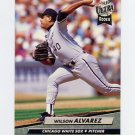 1992 Ultra Baseball #032 Wilson Alvarez - Chicago White Sox
