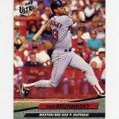 1992 Ultra Baseball #012 Tom Brunansky - Boston Red Sox