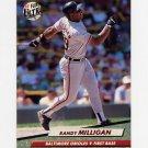 1992 Ultra Baseball #008 Randy Milligan - Baltimore Orioles