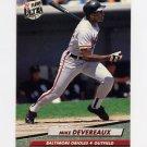 1992 Ultra Baseball #002 Mike Devereaux - Baltimore Orioles