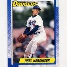 1990 Topps Baseball #780 Orel Hershiser - Los Angeles Dodgers
