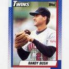 1990 Topps Baseball #747 Randy Bush - Minnesota Twins