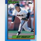 1990 Topps Baseball #703 Jeff Brantley - San Francisco Giants