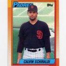 1990 Topps Baseball #693 Calvin Schiraldi - San Diego Padres