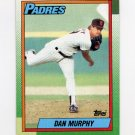 1990 Topps Baseball #649 Dan Murphy RC - San Diego Padres