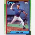 1990 Topps Baseball #613 Jeff Pico - Chicago Cubs