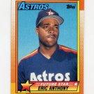 1990 Topps Baseball #608 Eric Anthony RC - Houston Astros