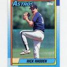 1990 Topps Baseball #588 Rick Rhoden - Houston Astros