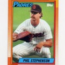 1990 Topps Baseball #584 Phil Stephenson - San Diego Padres