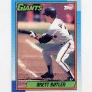 1990 Topps Baseball #571 Brett Butler - San Francisco Giants