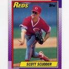 1990 Topps Baseball #553 Scott Scudder - Cincinnati Reds