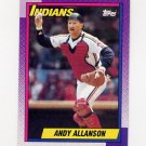 1990 Topps Baseball #514 Andy Allanson - Cleveland Indians