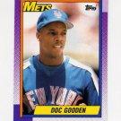 1990 Topps Baseball #510 Dwight Gooden - New York Mets