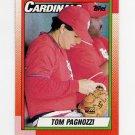1990 Topps Baseball #509 Tom Pagnozzi - St. Louis Cardinals