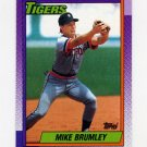 1990 Topps Baseball #471 Mike Brumley - Detroit Tigers