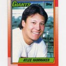 1990 Topps Baseball #447 Atlee Hammaker - San Francisco Giants