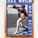 1990 Topps Baseball #405 Mike Scott AS - Houston Astros