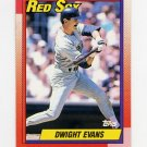 1990 Topps Baseball #375 Dwight Evans - Boston Red Sox