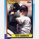 1990 Topps Baseball #324 Pete Harnisch - Baltimore Orioles