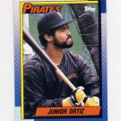 1990 Topps Baseball #322 Junior Ortiz - Pittsburgh Pirates