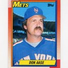 1990 Topps Baseball #301 Don Aase - New York Mets