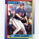 1990 Topps Baseball #282 Derek Lilliquist - Atlanta Braves