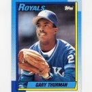 1990 Topps Baseball #276 Gary Thurman - Kansas City Royals