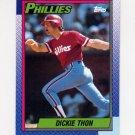 1990 Topps Baseball #269 Dickie Thon - Philadelphia Phillies