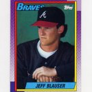 1990 Topps Baseball #251 Jeff Blauser - Atlanta Braves