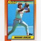 1990 Topps Baseball #234 Mariano Duncan - Cincinnati Reds