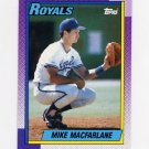 1990 Topps Baseball #202 Mike Macfarlane - Kansas City Royals