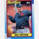 1990 Topps Baseball #188 Mike Smithson - Boston Red Sox