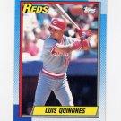 1990 Topps Baseball #176 Luis Quinones - Cincinnati Reds