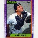 1990 Topps Baseball #131 Matt Nokes - Detroit Tigers