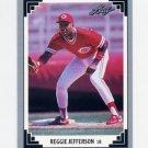 1991 Leaf Baseball #514 Reggie Jefferson - Cincinnati Reds
