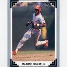 1991 Leaf Baseball #494 Mariano Duncan - Cincinnati Reds
