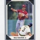 1991 Leaf Baseball #482 Wally Backman - Philadelphia Phillies